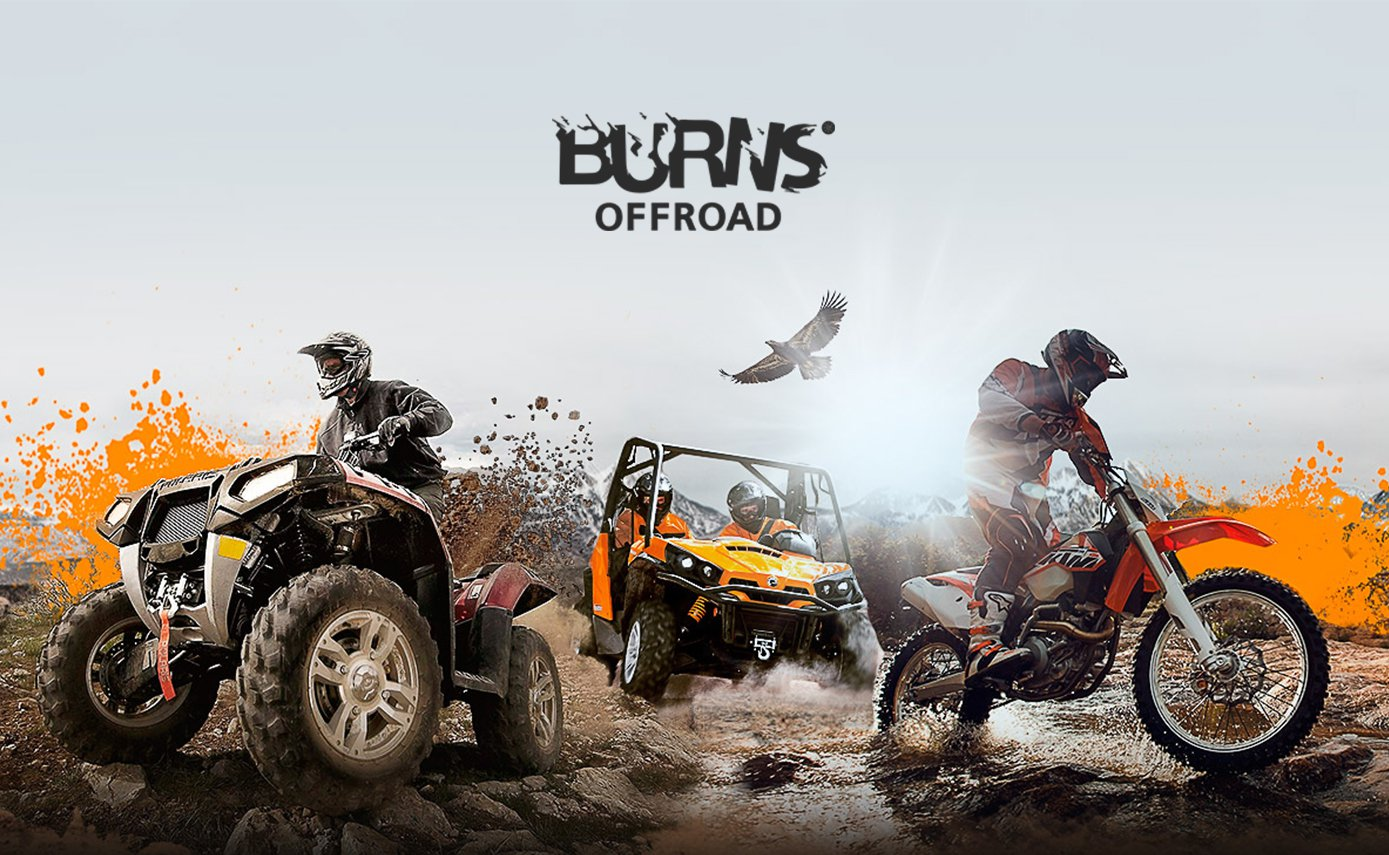 Burns offroad